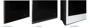 Ecran Pinnacle 16p 220cd/m2 Miroir sans bord avec haut-parleurs AVF16L-CPMVPLSE Aquavision