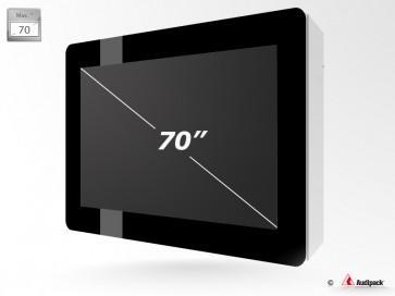Caisson de protection extérieur pour écran LCD FSMO-70 Audipack