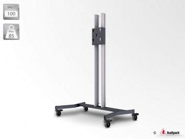 Support de sol stable sur roulette 390780 Audipack