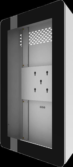 Caisson indoor IP30 pour écran 40p avec verre de protection AUD-FSMT-N40P Audipack