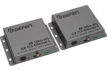 Extendeur HDMI sur un câble paires torsadées CAT5e Gefen EXT-UHD-CAT5ELRPOL