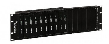 Support rack 19 pouces pour chassis 16 ports 500920 Muxlab