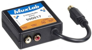 500017 Balun Muxlab VideoEase S-Vidéo et Audio