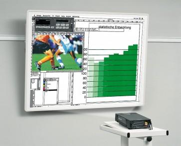 Tableau de projection 150x87 cadre blanc Kindermann 5008411710