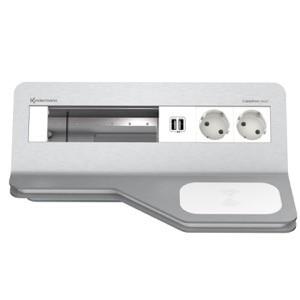 Boîtier de table Kindermann CablePort Desk² 6 modules 7430000662
