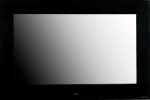 Aquavision Ecran encastré Pinnacle 55p 4K 450cd/m2 Verre Noir
