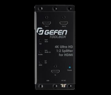 Distributeur Gefen 1:8 HDMI Ultra HD 4K noir