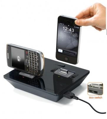 Multichargeur sans fil mobile universel