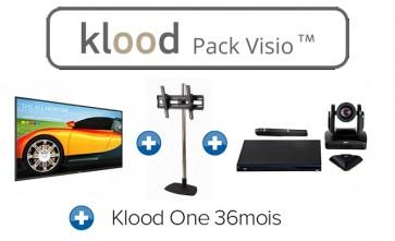 klood PACK VISIO BDL4330QL00 + EVC170 + Klood One 36mois + STD01C-B