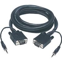 Cordon VGA + audio 20 m