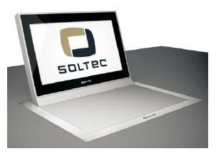 Ecran professionnel LCD encastrable 17.3 pouces Soltec SFOL173G-10