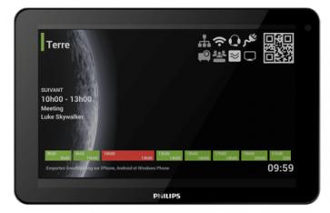 Ecran tactile 10 pouces 10BDL3051T Philips