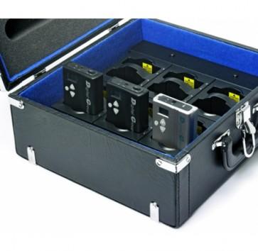 Valise de transport et rechargement Rondson pour 12 récepteurs visite DGT-2400
