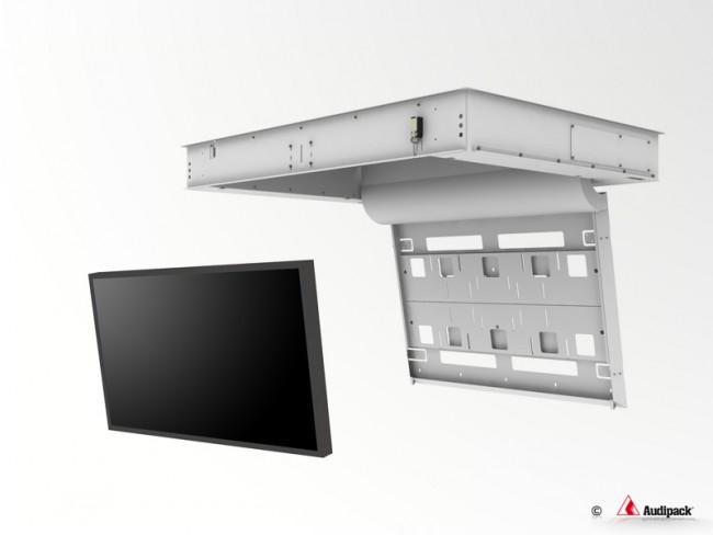 support de plafond encastr motoris pour cran plat ffcl. Black Bedroom Furniture Sets. Home Design Ideas