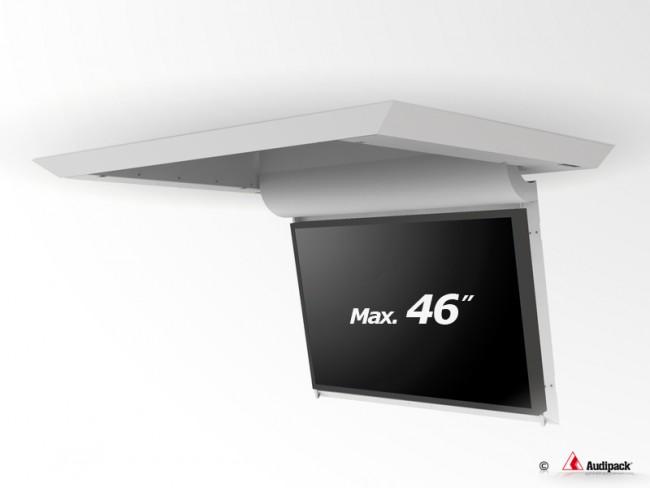 d5877e93bfbf22 Support de plafond en surface motorisé pour écran plat FFCL-4046S Audipack