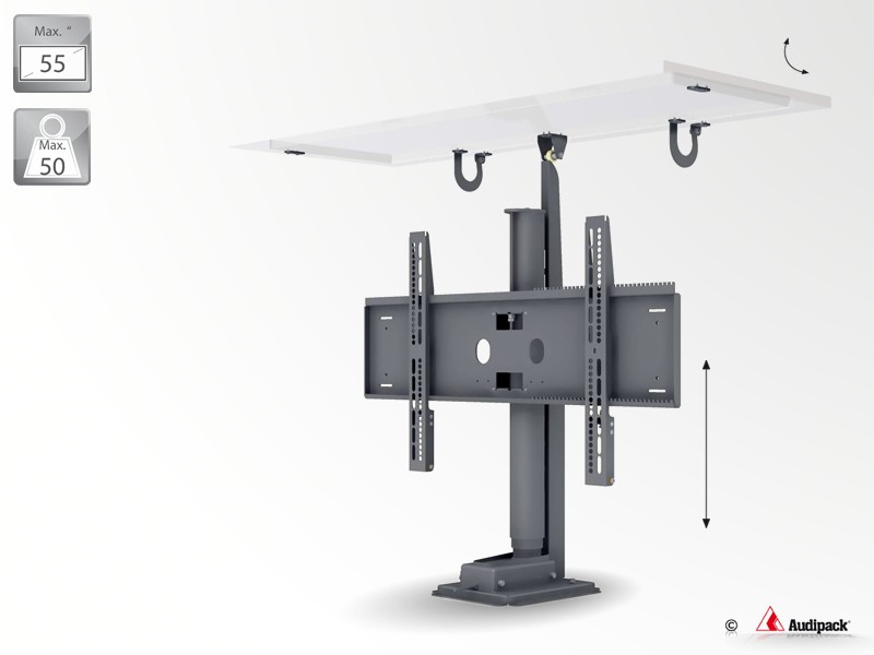 support de mobilier motoris pour cran plat p5321. Black Bedroom Furniture Sets. Home Design Ideas