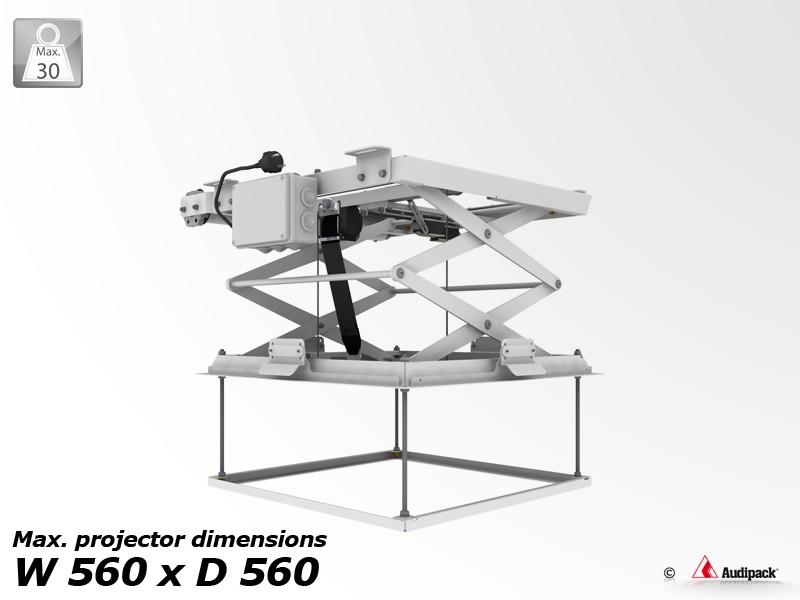 Support de plafond motoris pour vid oprojecteur pcl 5050 - Support motorise videoprojecteur plafond ...