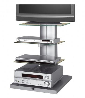 meuble tv hubertus wenus 1 argent audiovisuel solution. Black Bedroom Furniture Sets. Home Design Ideas