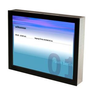 ecran 15 pouces doorsign avec pc 5000000037 kindermann. Black Bedroom Furniture Sets. Home Design Ideas