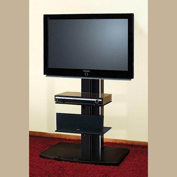 Meuble Tv Design Noir Avec Support Plasma Cosy : Meuble tv design noir ...