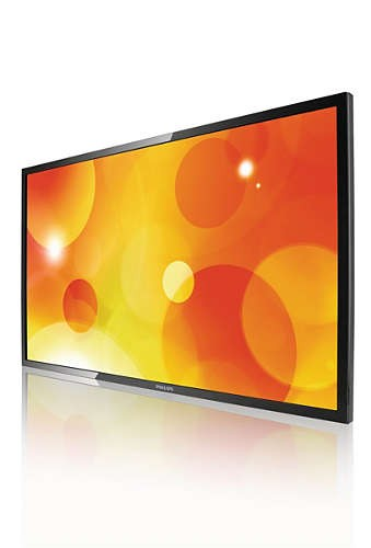 ecran philips led 55 pouces full hd bdl5530ql 00. Black Bedroom Furniture Sets. Home Design Ideas