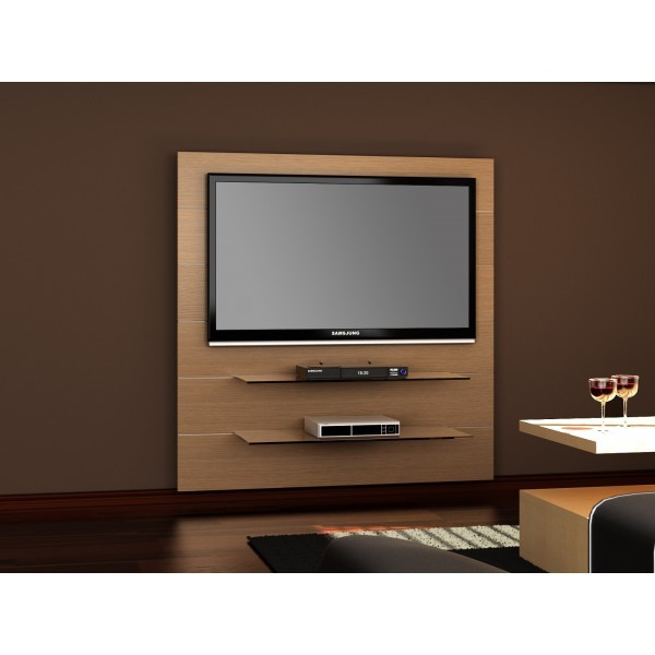 Meuble tv hubertus panorama 2 ch ne audiovisuel solution for Meuble pour encastrer un four
