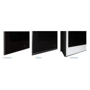 Ecran Pinnacle 43p 500cd/m2 avec AG White Glass  AVF43L-CPAGWE Aquavision