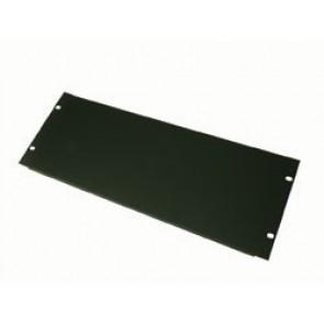 Panneau acier noir mat 4U