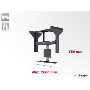 Support plafond vertical motorisé pour écran plat FCL-A1 Audipack
