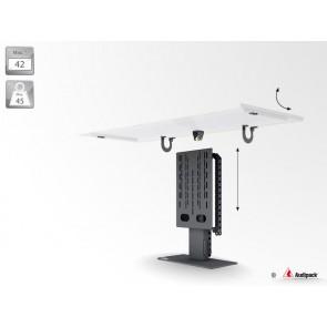 Support de mobilier motorisé pour écran plat P3674 Audipack