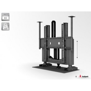 Support de mobilier motorisé pour écran plat P5382 Audipack