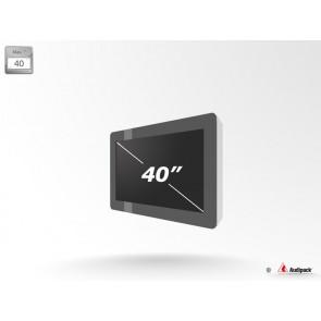 Caisson de protection extérieur pour écran LCD FSMO-40 Audipack
