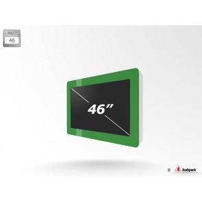 Caisson de protection extérieur pour écran LCD FSMO-46 Audipack