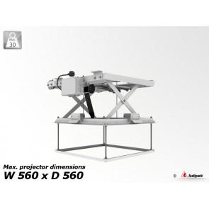 Support de plafond motorisé pour vidéoprojecteur PCL-5050-1 Audipack