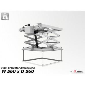 Support de plafond motorisé pour vidéoprojecteur PCL-5050-3 Audipack