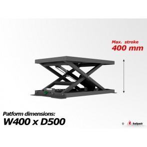 Support de table motorisé pour vidéoprojecteur M-1-400 Audipack