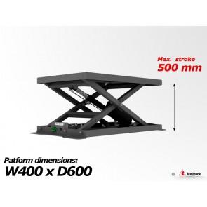 Support de table motorisé pour vidéoprojecteur M-1-500 Audipack