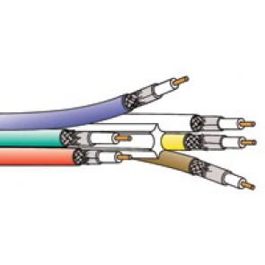 Câble Belden 1281S6 BONDED FILLER COMPOSITE Noir