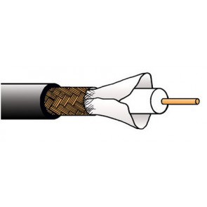 Câble Belden haute précision 1505A-305 noir 305 m