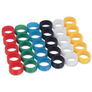Bague de couleur pour connecteur (blanc)