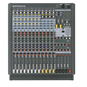 Console de mixage 16 mono Majorcom IMX-416