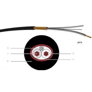 Paire de brassage audio 0,14 mm² noir JA14