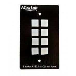Panneau de contrôle 8 bouttons RS232/IR 500816 Muxlab