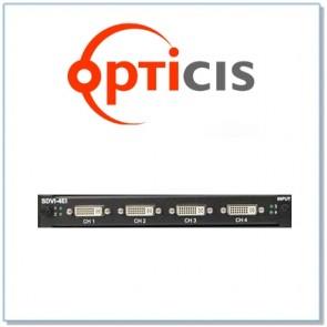 Carte d'entrée 4 ports DisplayPort 1.1 DP1-4EI Opticis