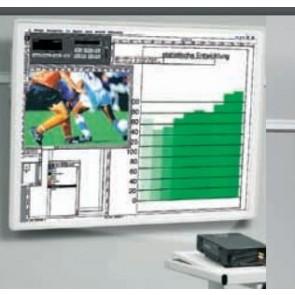 Tableau sur rail de projection 175x175cm gris KIN-5008411056 Kindermann