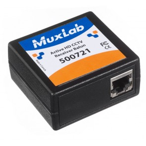 Balun CCTV HD actif récepteur 500721 Muxlab