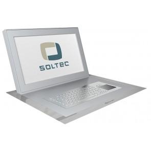 Ecran professionnel LCD encastrable 17.3 pouces Soltec SFOL173A-10