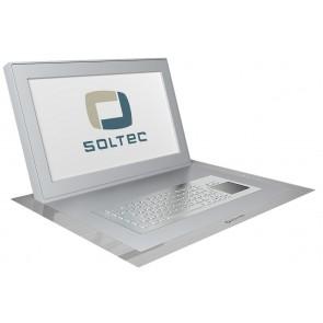 Ecran professionnel LCD encastrable 15.6 pouces Soltec SFOL156A-10
