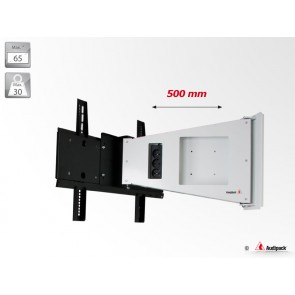 Support mural orientable FWA-500W Audipack