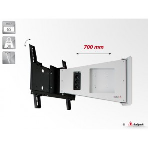 Support mural inclinable FWA-700IW Audipack